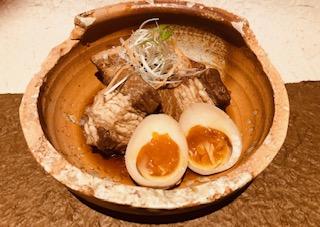 豚の角煮味玉