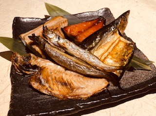 焼魚五種類盛り合わせ